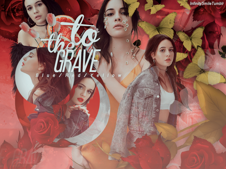 + ID: to the grave // Bea Miller by InfinitySmileTumblr