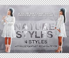Styles 1 - Nature Styles by reeawhatever
