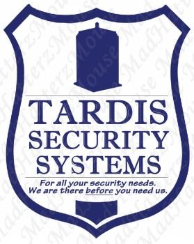 Tardis Security Systems by MadHatterzMouse