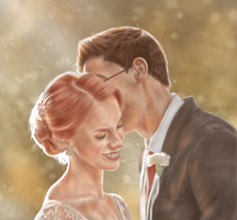 Lily and James by oxShadowCatxo