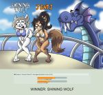 Queen of Summer 4 Round 5: Shining Wolf vs Jenti by shinragod