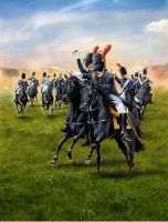 Charge of the Imperial Guard by hardbodies