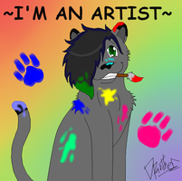 I'm an Artist 8D by boxes-of-foxxes