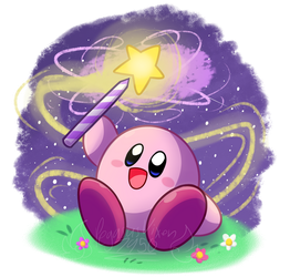 Kirby and the Star Rod by PegasusVixen7950