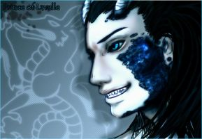 Blue Prince of Lavelle by Niladhevan