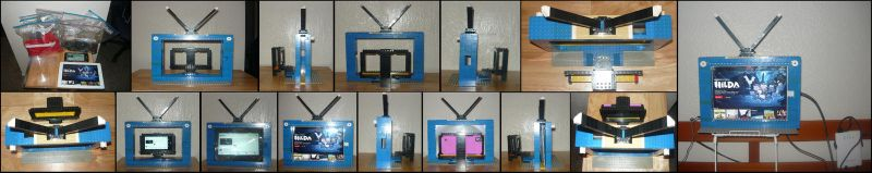 The LEGO iPad and Cellphone TV by KambalPinoy
