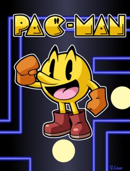 Pac Man by rongs1234