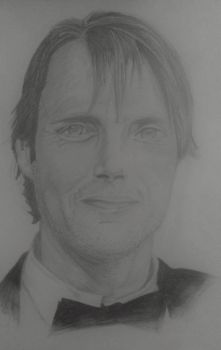 Mads Mikelsen by InterestingButNot