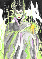 Maleficient by Aveleira-Art