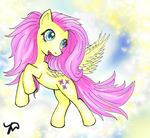 Fluttershy (My Little Pony) by Kardischian