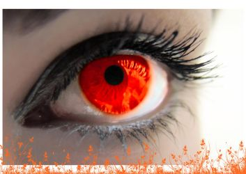 an_orange_eye by vgdesign