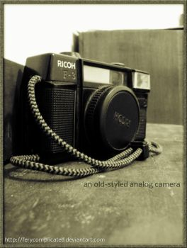 old camera by ferycomplicated