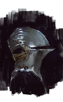 Helmet sketch by RobertoGatto