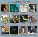2012 Summary of Art by Follyfoot