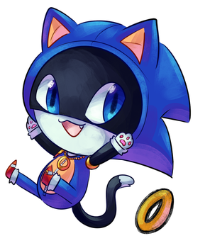 Morgana Sonic outfit by CuteyTCat