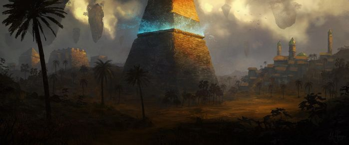 Pyramid by artificialguy