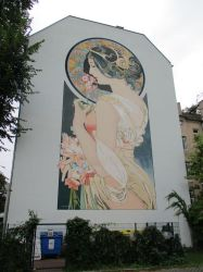Art Nouveau Mural by tilianus