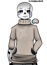 In which his design always changes |Undertell!Sans by AnarchyKJ