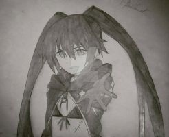 Black Rock Shooter #4 by Bloudy92