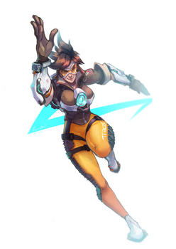 Tracer RUN by EvilQueenie