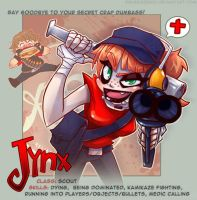TF2: Red Scout ID by Jynxed-Art