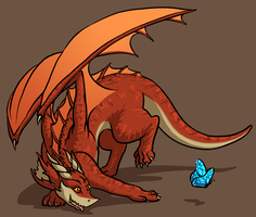 Baby Dragon by Morgoth883