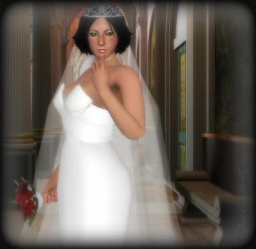 Elegant Bride~Ada Wong by IamRinoaHeartilly