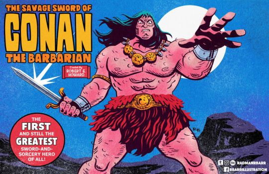 Conan The Barbarian by RADMANRB