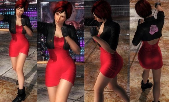 Mila Jacket Red Dress by funnybunny666