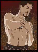 IM: Tony Stark Has Boxers by objectively-pink