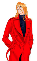 Jet Link red coat by renicrazy