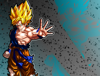 Super Saiyan Goku Edit by King-Kazoo