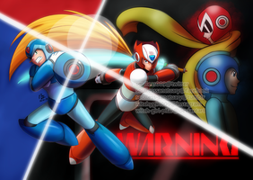 Mega Man: Dawn of X by witch-girl-pilar