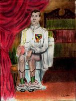 Rimmer on the Throne by Puddingbat