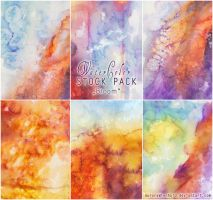 Watercolor - Stock Pack 2 - Bloom by RoryonaRainbow