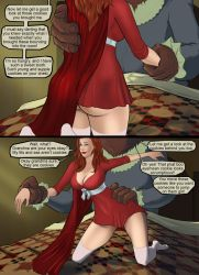 Red Riding Hood Vore 4 by laptop456