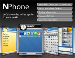 NPhone for Nokia S60 3rd by likepassion