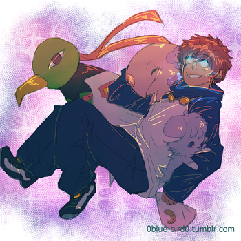 BBB X Pokemon: Leo by Sogequeen2550