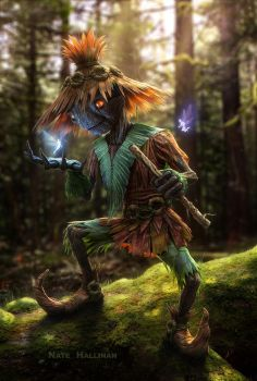 Skull Kid by NateHallinanArt