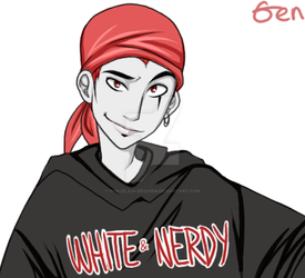 Jack Spicer - White and Nerdy by Porcelain-Requiem
