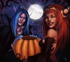 WoW: Aspect Halloween by Altana