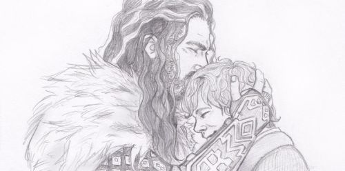 Thorin and Bilbo by Seraph5