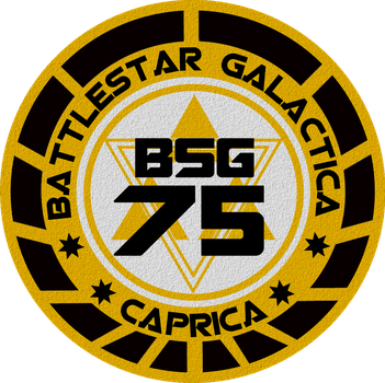 Old Meets New Battlestar Galatica Insignia by viperaviator