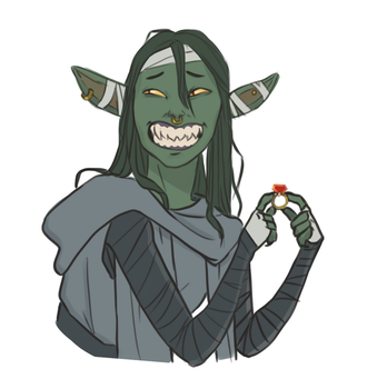 Nott the Brave by captainceranna