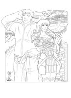 Sheamas and Boudicca by twisk