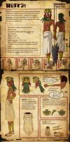 Huitzi reference sheet by Unknown-person