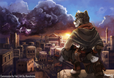 [C] Last Flame Before the Storm by thanshuhai
