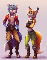 Foxes- Lau and James by foxlau