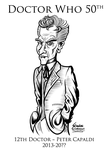 Doctor Who 12th Doctor Peter Capaldi by SouthParkTaoist