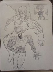 OPM Jojo Style by Donthedemon0